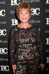 Judge Judy Sheindlin attends the 22nd annual Broadcasting & Cable Hall of Fame at the Waldorf Astoria in New York City.