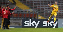 16.04.2011, Stadion der Stadt Linz, Linz, AUT, 1.FBL, LASK Linz vs KSV Superfund, im Bild Torjubel Deni Alar, (KSV Superfund, #19), EXPA Pictures © 2011, PhotoCredit: EXPA/ R. Hackl