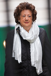 London, March 24th 2015. Members of the Cabinet gather at Downing street for their weekly meeting. PICTURED: Minister of State at the Foreign & Commonwealth Officel, Baroness Anelay