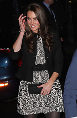 Duke and Duchess of Cambridge at charity concert