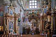 Kościół św. Anny - wnętrze, Warszawa, Polska<br /> Church of St Anna - interior, Warsaw, Poland