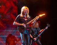 GLENN TIPTON of Judas Priest at San Manuel Amphitheater in San Bernardino, California