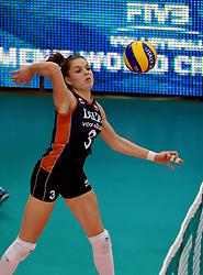 01-10-2014 ITA: World Championship Volleyball Servie - Nederland, Verona<br /> Yvon Beliën