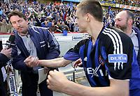 Fotball<br /> Belgia<br /> Foto: PhotoNews/Digitalsport<br /> NORWAY ONLY<br /> <br /> BRUGGE 15/05/2005<br />   <br /> CLUB BRUGGE - ANDERLECHT 2-2<br /> BRUGGE SERIEMESTERE<br /> <br /> TROND SOLLIED - TIMMY SIMONS