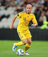 Fotball<br /> 06.06.2011<br /> Foto: Witters/Digitalsport<br /> NORWAY ONLY<br /> <br /> Serhiy Nazarenko (Ukraine)<br /> Testspiel, Ukraine - Frankreich 1:4<br /> <br /> Testspiel, Ukraina v Frankrike 1:4