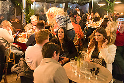 © Licensed to London News Pictures.  30/04/2021. London, UK. Members of the public make the most of Friday night out in Soho, central London as as May bank holiday begins. Photo credit: Marcin Nowak/LNP
