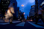 Sao Paulo_SP, Brasil...Avenida Paulista um dos principais centros financeiros de Sao Paulo...The Paulista avenue is one of the most important avenues in Sao Paulo...Foto: MARCUS DESIMONI / NITRO