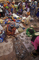 the Sanga Market in Mali, West Africa