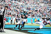 December 24, 2016: Carolina Panthers vs Atlanta Falcons. Devin Funchess