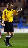 Photo: Daniel Hambury.<br />Reading v West Bromwich Albion. The FA Cup. 17/01/2006.<br />Referee Mr P. Taylor.
