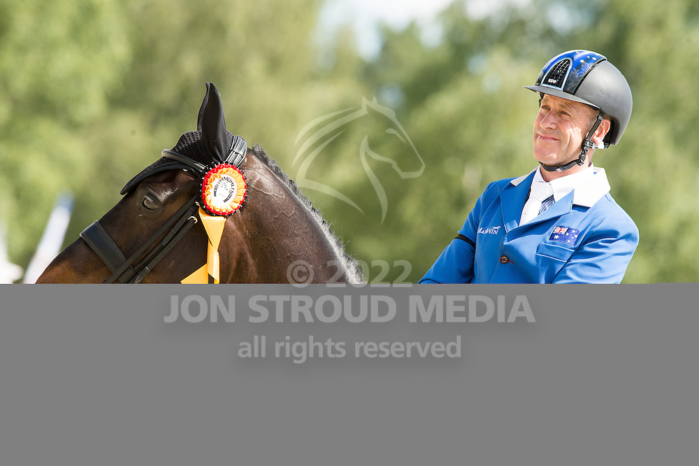 Andrew Hoy (AUS) & Cheeky Calimbo, winners of the CIC3* - Luhmuhlen 2014 - Salzhausen, Germany - 15 June 2014