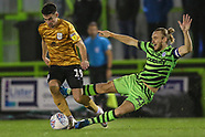 Forest Green Rovers v Crewe Alexandra 261019