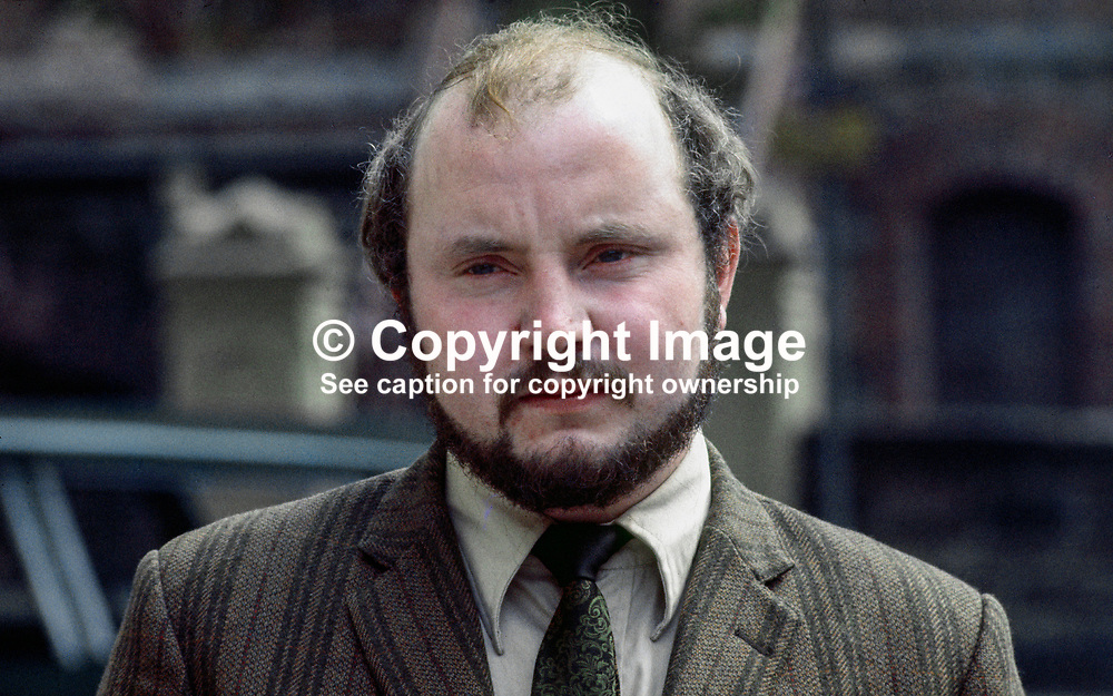 Paddy O'Hanlon, Independent Nationalist, MP, elected in N Ireland General Election in 1969. Born 8 May 1944.  Died 7 April 2009. Later was founder member of the SDLP, Social Democratic and Labour Party, 197006000222b <br /> <br /> Copyright Image from Victor Patterson, Belfast, UK<br /> <br /> t: +44 28 9066 1296 (from Rep of Ireland 048 9066 1296)<br /> m: +44 7802 353836<br /> e: victorpattersonbelfast@gmail.com<br /> <br /> www.images4media.com<br /> <br /> Please see my full Terms and Conditions of Use at https://www.images4media.com/p/terms-conditions - it is IMPORTANT that you familiarise yourself with them.<br /> <br /> Images used online incur an additional cost. This cost should be agreed in writing in advance. Online images must be visibly watermarked i.e. © Victor Patterson or that of the named photographer within the body of the image. The original metadata must not be deleted from images used online.<br /> <br /> This image is only available for the use of the download recipient i.e. television station, newspaper, magazine, book publisher, etc, and must not be passed on to a third party. It is also downloaded on condition that each and every usage is notified within 7 days to victorpattersonbelfast@gmail.com.<br /> <br /> The right of Victor Patterson (or the named photographer) to be identified as the author is asserted in accordance with The Copyright Designs And Patents Act (1988). All moral rights are asserted.