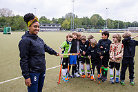 AMSTERDAM - Hockeyclub Westerpark. Voor veel hockeyjeugd betekende woensdag 29 april een bevrijding. Eindelijk mocht er voorzichtig weer gehockeyd worden, na een gedwongen stop vanwege het coronavirus.    COPYRIGHT KOEN SUYK