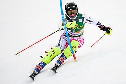 January 7, 2018 - Kranjska Gora, Gorenjska, Slovenia - Gabriela Capova of Czech Republic competes on course during the Slalom race at the 54th Golden Fox FIS World Cup in Kranjska Gora, Slovenia on January 7, 2018. (Credit Image: © Rok Rakun/Pacific Press via ZUMA Wire)
