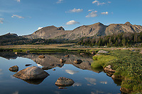 Unnamed lake along the Fremont Trail. Bridger Wilderness, Wind River River Range Wyoming