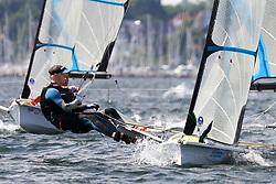 , Kiel - Kieler Woche 17. - 25.06.2017, 49er FX - NED 662 - Thomas SNOEK - Ties VERPLOEGH - WV MONNICKENDAM
