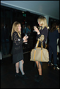SILVIA CEROLINI; ALLI ZANCHETTA, Frieze party, ACE hotel Shoreditch. London. 18 October 2014