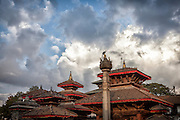 Some of the temples in the world heritage listed Durbar Square.