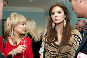 SALLY FARMILLOE; ANTALYA NALL-CAIN, Party Planning and Etiquette. Liz Brewer book launch,. Dukes hotel. St. James's. London. 10 June 2011. <br /> <br />  , -DO NOT ARCHIVE-© Copyright Photograph by Dafydd Jones. 248 Clapham Rd. London SW9 0PZ. Tel 0207 820 0771. www.dafjones.com.