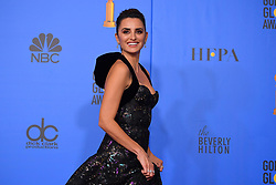 January 6, 2019 - Los Angeles, California, U.S. - Penelope Cruz in the Press Room during the 76th Annual Golden Globe Awards at The Beverly Hilton Hotel. (Credit Image: © Kevin Sullivan via ZUMA Wire)