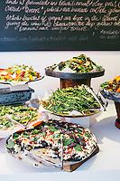 Salad Bar at Ottolenghi, London