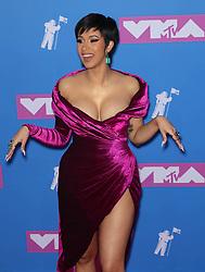 August 21, 2018 - New York City, New York, USA - 8/20/18.Cardi B at the 2018 MTV Video Music Awards at Radio City Music Hall in New York City. (Credit Image: © Starmax/Newscom via ZUMA Press)