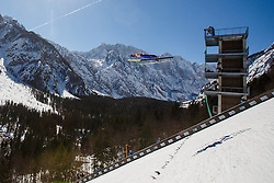 Michael Hayboeck (AUT) during the Ski Flying Hill Team Competition at Day 3 of FIS Ski Jumping World Cup Final 2016, on March 19, 2016 in Planica, Slovenia. Photo by Grega Valancic / Sportida