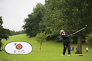 Maeve Bogie (Mahee Island) during the Ulster Mixed Foursomes Final, Shandon Park Golf Club, Belfast. 19/08/2016<br /> <br /> Picture Jenny Matthews / Golffile.ie<br /> <br /> All photo usage must carry mandatory copyright credit (© Golffile | Jenny Matthews)