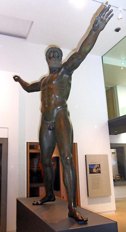 Bronze statue Zeus (Modern Replica)