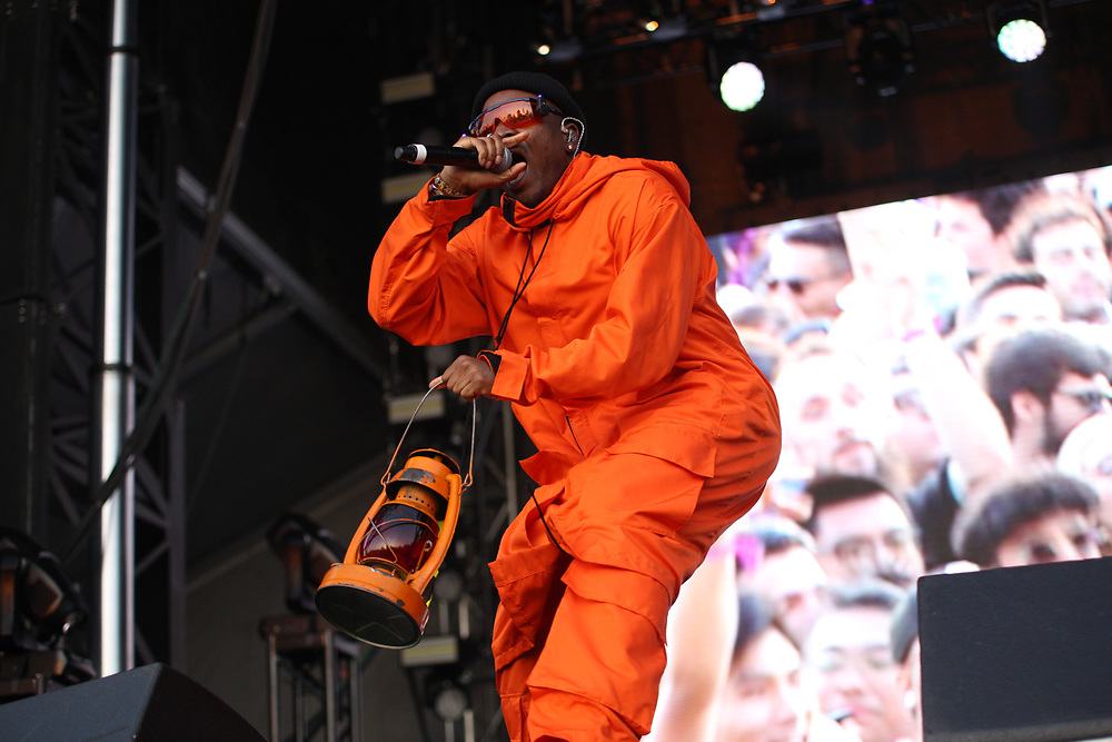 IDK performs at Camp Flog Gnaw 2019 in Los Angeles, CA.