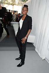 Olympic Gold Medal winning boxer NICOLA ADAMS at the Glamour Women of the Year Awards in association with Pandora held in Berkeley Square Gardens, London on 4th June 2013.