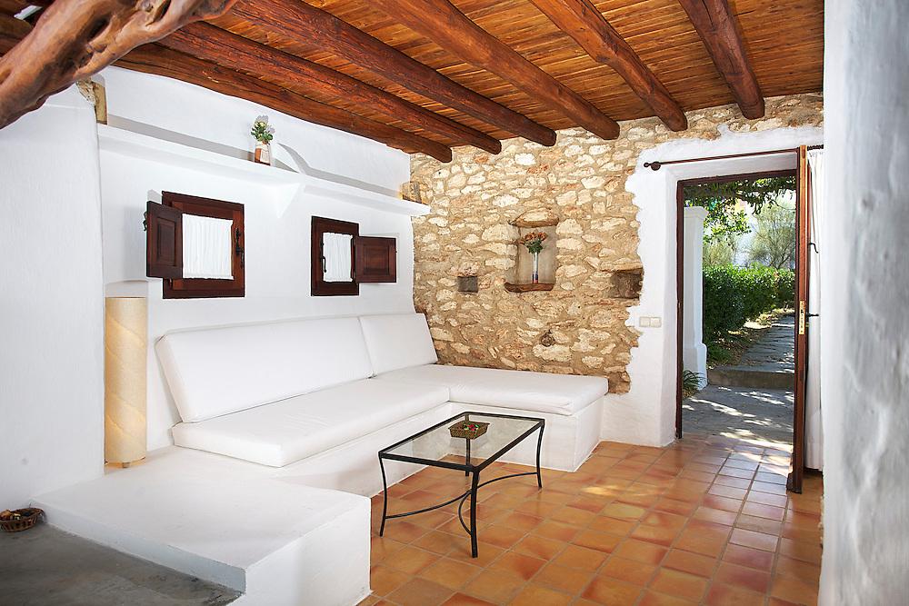 05/Julio/2013 Ibiza. Sant Joan<br /> Agroturismo Ca n'Escandell. <br /> Habitaciòn Es Carro<br /> <br /> ©JOAN COSTA