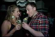 ANNA WILLS; BROOKE GILKES, , Cahoots club launch party, 13 Kingly Court, London, W1B 5PW  26 February 2015