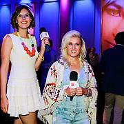 NLD/Hilversum/20130820- Najaarspresentatie RTL 2013, Britt Dekker en Imke Wieringa
