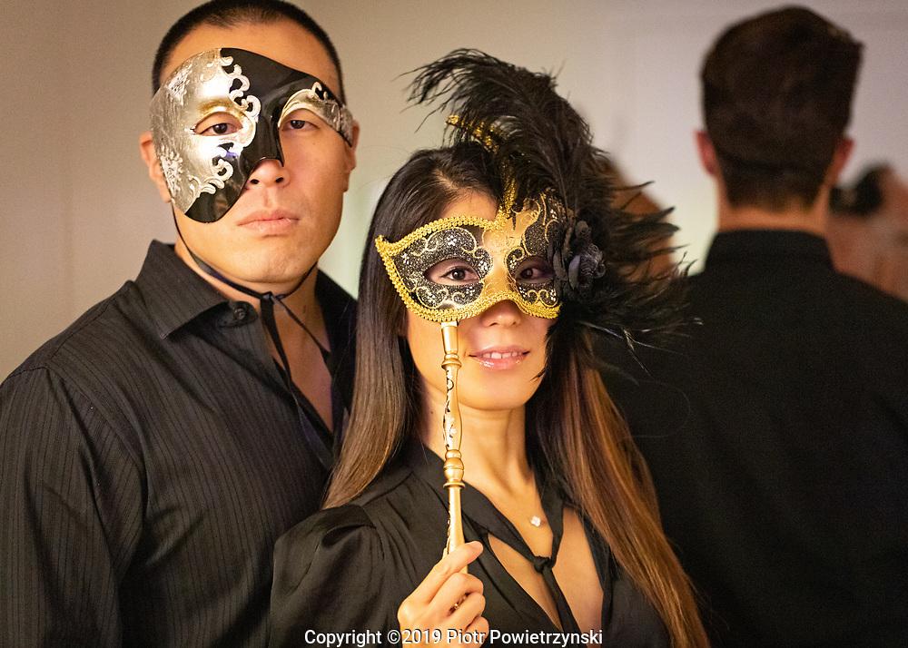 Jordan & Magdalena - BAL MASQUÉ - New York, NY<br /> Saturday, October 19th