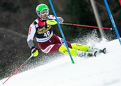 ZLATKOV Kamen of Bulgaria during the Audi FIS Alpine Ski World Cup Men's Slalom 58th Vitranc Cup 2019 on March 10, 2019 in Podkoren, Kranjska Gora, Slovenia. Photo by Matic Ritonja / Sportida