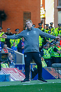 Interim Celtic Manager Neil Lennon during the Ladbrokes Scottish Premiership match between Rangers and Celtic at Ibrox, Glasgow, Scotland on 12 May 2019.