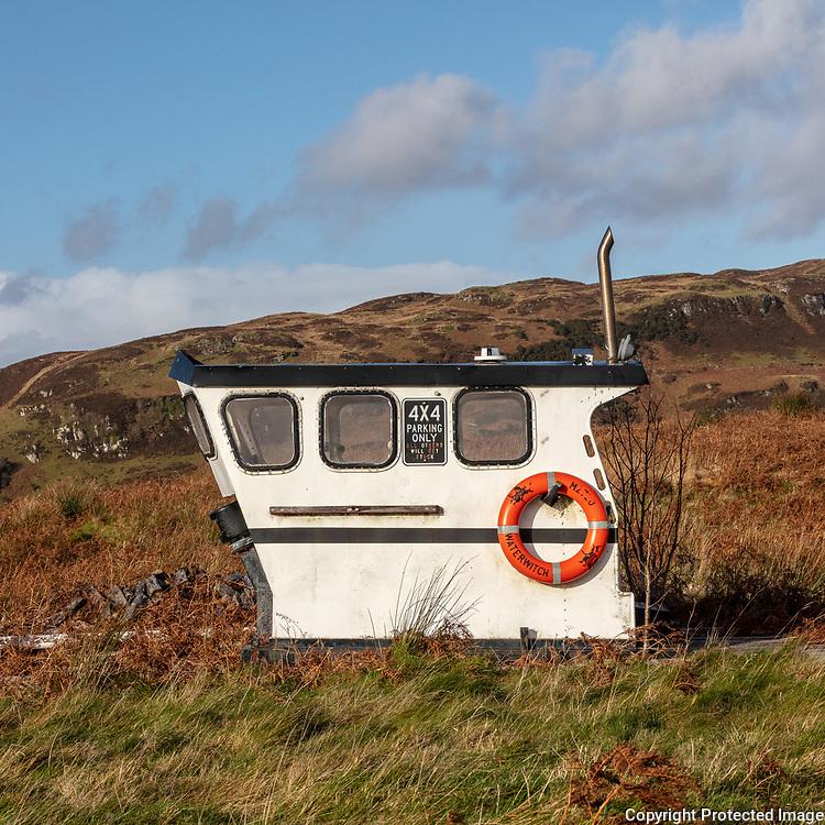 The Wheelhouse at Ardentallen Point I, Argyll, Scotland.