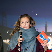 NLD/Amsterdam/20191209 - Aftrap KWF lampionnenactie, Winston Gerschtanowitz, Leonie ter Braak