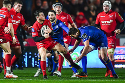 Photographer Craig Thomas/Replay Images<br /> <br /> Guinness PRO14 Round 17 - Scarlets v Leinster - Friday 9th March 2018 - Parc Y Scarlets - Llanelli<br /> <br /> World Copyright © Replay Images . All rights reserved. info@replayimages.co.uk - http://replayimages.co.uk