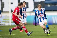 HEERENVEEN , SC Heerenveen - AZ , 12-02-2017 , <br />  , AZ speler Ben Rienstra in duel met SC Heerenveen speler Martin Ødegaard <br /> <br /> Norway only