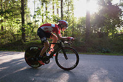 Isabelle Beckers at the Crescent Vargarda - a 42.5 km team time trial, starting and finishing in Vargarda on August 11, 2017, in Vastra Gotaland, Sweden. (Photo by Sean Robinson/Velofocus.com)