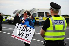 Donald Trump protest | Turnberry | 24 June 2016