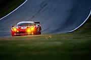 September 30-October 1, 2011: Petit Le Mans at Road Atlanta. 59 Frederic Makowiecki; Anthony Beltoise, Stephane Ortelli, Ferrari F458, Luxury Racing