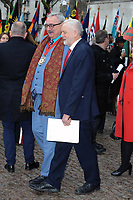 Jeremy Corbyn at Westminster Abbey for the Commonwealth Service, attend by the Queen and other members of the Royal and political party Leaders
