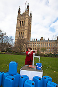 Sharon Hodgson MP. Marking World Water Day, over 40 MP's walked for water at Westminster, London at an event organised by WaterAid and Tearfund. Globally hundreds of thousands of people took part in the campaign to raise awareness of the world water crisis.