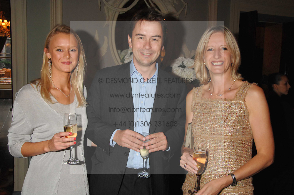 Centre & right, ALBERT READ and TRISH STEVENSON publisher of Tatler, at the Tatler magazine Summer Party, Home House, Portman Square, London W1 on 27th June 2007.<br /><br />NON EXCLUSIVE - WORLD RIGHTS