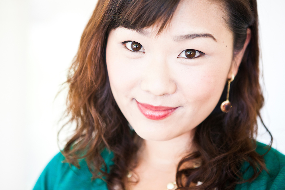 Portrait of a beautiful smiling Asian woman.