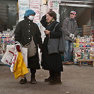Mongolia. Ulaanbaatar. east market,   the big open air market in  UlanBaatar -    / le grand  - marche de l'est - a ciel ouvert  OULAN BATOR - Mongolie